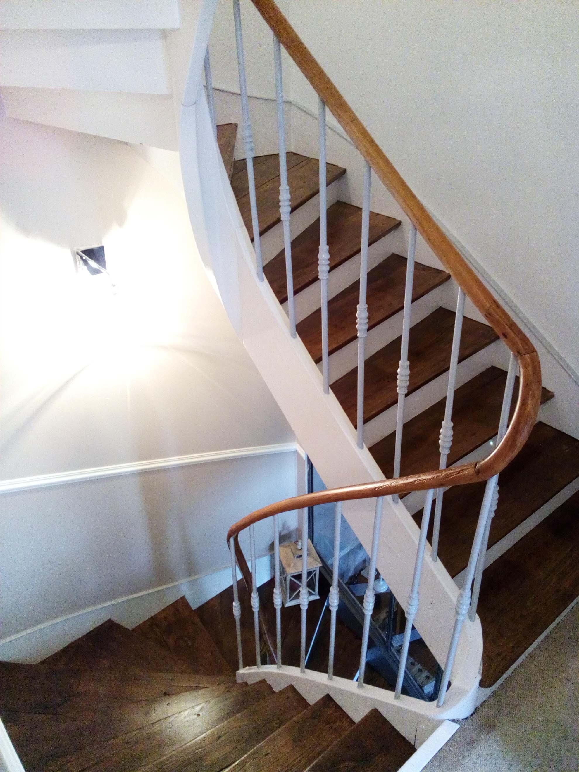 Mise en valeur d'une cage d'escalier ancienne