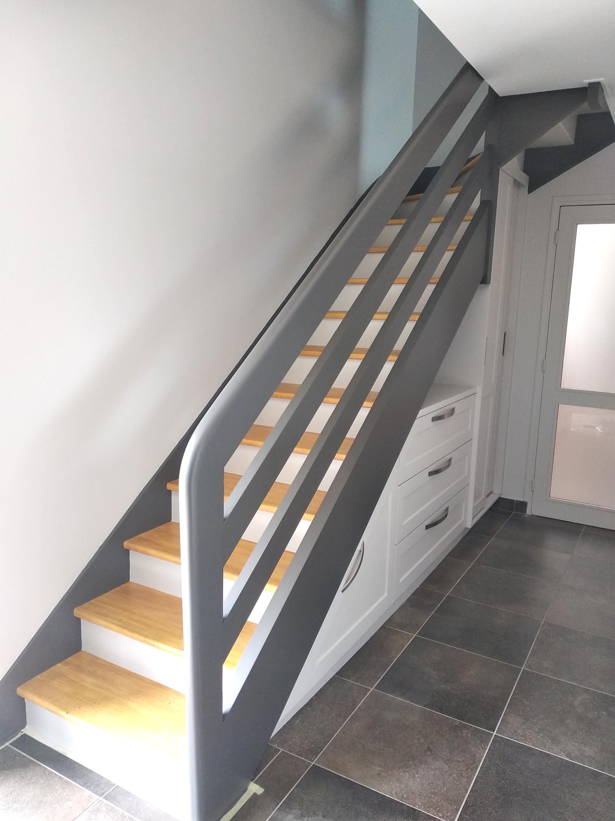 Rénovation cage d'escalier