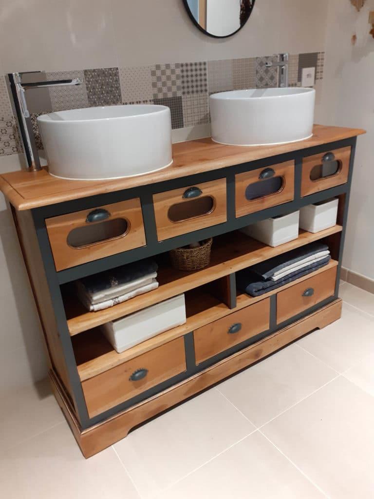Rénovation meuble salle de bain 2